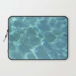 Turquoise Blue Water Laptop Sleeve