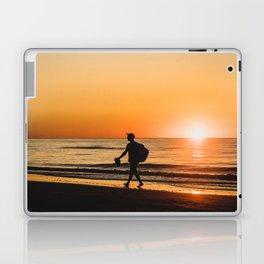 Sunset over Adriatic Sea Laptop & iPad Skin