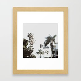 N Coast Highway Framed Art Print