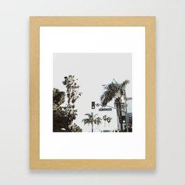 N Coast Highway Framed Art Print