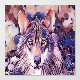 The Iberian Wolf Canvas Print