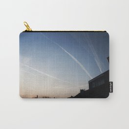 Vapour Trails, South Hayling. Carry-All Pouch
