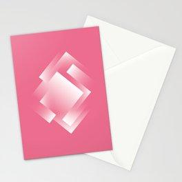 pink ernergy labyrinth Stationery Cards