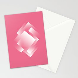 pink ernergy labyrinth Stationery Cards
