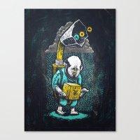 zelda Canvas Prints featuring Zelda by Ronan Lynam