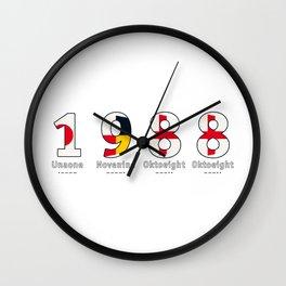 1988 - NAVY - My Year of Birth Wall Clock