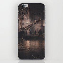 Working Dock iPhone Skin