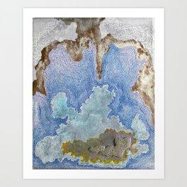 Implosion Art Print