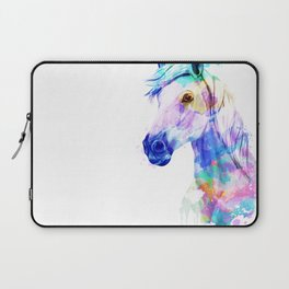 Horse Watercolor, Horse Print, Watercolor Print, Watercolor Animal, Horse Painting, Horse Gift Print Laptop Sleeve
