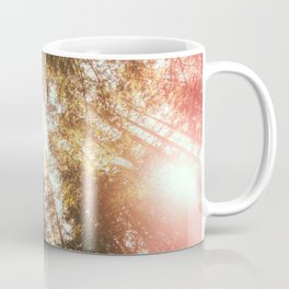 California Redwoods Sun-rays and Sky Coffee Mug