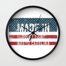 Made in Rocky Point, North Carolina Wall Clock