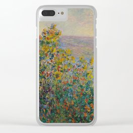 Flower Beds at Vétheuil Clear iPhone Case