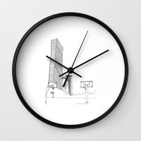 seoul Wall Clocks featuring SEOUL MOMENT_03 by By-EunEun