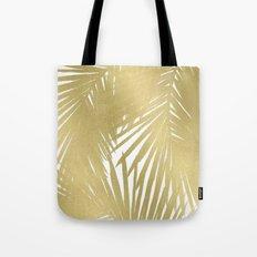 Palms Gold Tote Bag