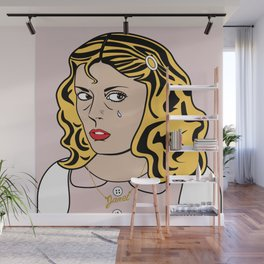 SAD GIRLS CLUB MEMBER JANET WEISS Wall Mural