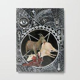 Satanic Metal Print