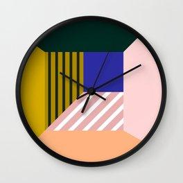 Abstract room b Wall Clock