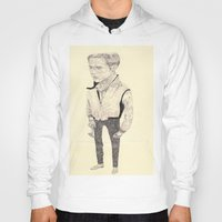 ryan gosling Hoodies featuring Ryan Gosling by withapencilinhand