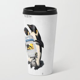 Read All Over Travel Mug