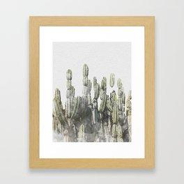 Kaktos Framed Art Print
