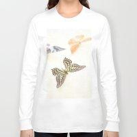 butterflies Long Sleeve T-shirts featuring Butterflies  by Pure Nature Photos