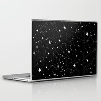 constellations Laptop & iPad Skins featuring Constellations by Rachel Buske