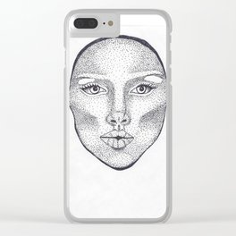 Dotty For Short Clear iPhone Case