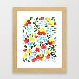 Certaldo Framed Art Print