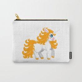 Unicorn pony. Cute cartoon style Carry-All Pouch