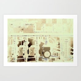 Geo Thermal  Art Print