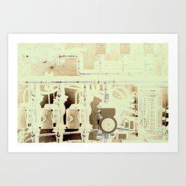 Geo Thermal  Art Print