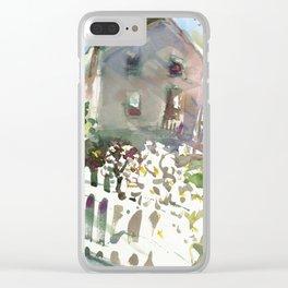 Elm Street Clear iPhone Case