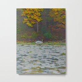 Swan Song Metal Print