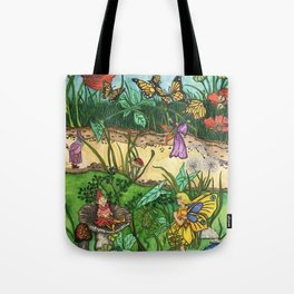 Day in the garden Tote Bag