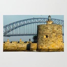 Fort Denison, Sydney Harbour Rug