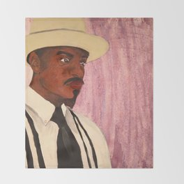 Andre 3000 Throw Blanket