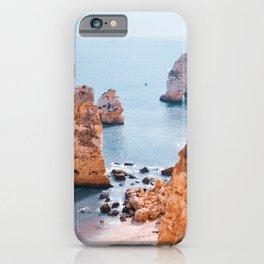 Surf and Swells | Portugal travel & roadtrip landscape - Fine Art Print colorful iPhone Case