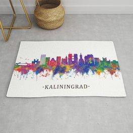 Kaliningrad Russia Skyline Rug