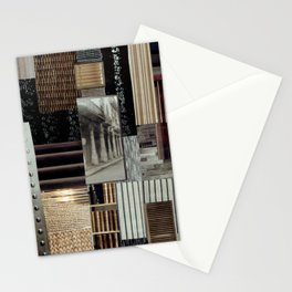 Collage - Lines Stationery Cards