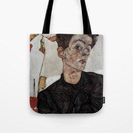 Egon Schiele , self-portrait Tote Bag