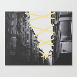 Stick 2gether Canvas Print