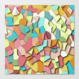 mosaic chaos Canvas Print