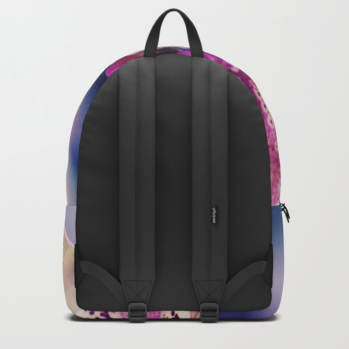 Close up Orchid #10 Backpack