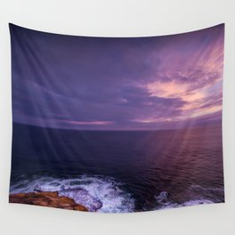 Evening Sea Wall Tapestry