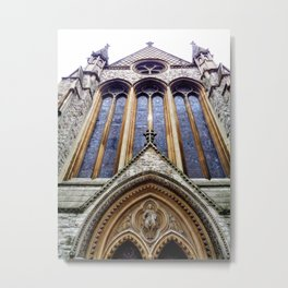 Kensington Church View Metal Print