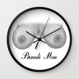 Brandi Mae Wall Clock