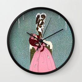 """The End of Romance"" Deco Design Wall Clock"