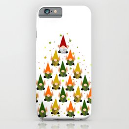 Merry Gnoming Christmas iPhone Case
