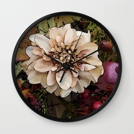 Nature is Delightful! Wall Clock