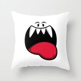 Happy Boo! Throw Pillow